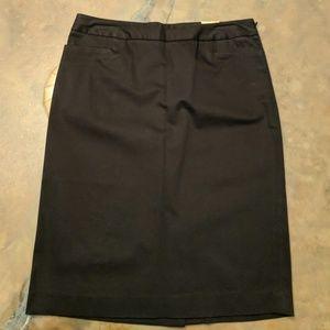 Dockers black skirt